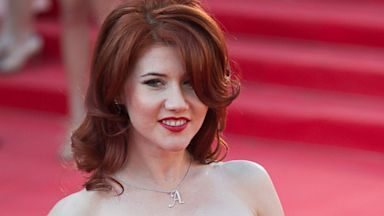 PHOTO: Anna Chapman poses at the opening ceremony of the 35th Moscow International Film Festival in Moscow, June 20, 2013.