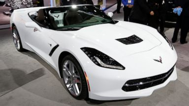 PHOTO: The Chevrolet Corvette Stingray has been named North American Car of the Year at the North American International Auto Show in Detroit, Jan. 13, 2014.