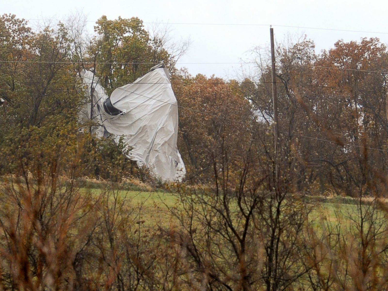 More Than 6,000 Feet of Tether Removed From Military Blimp