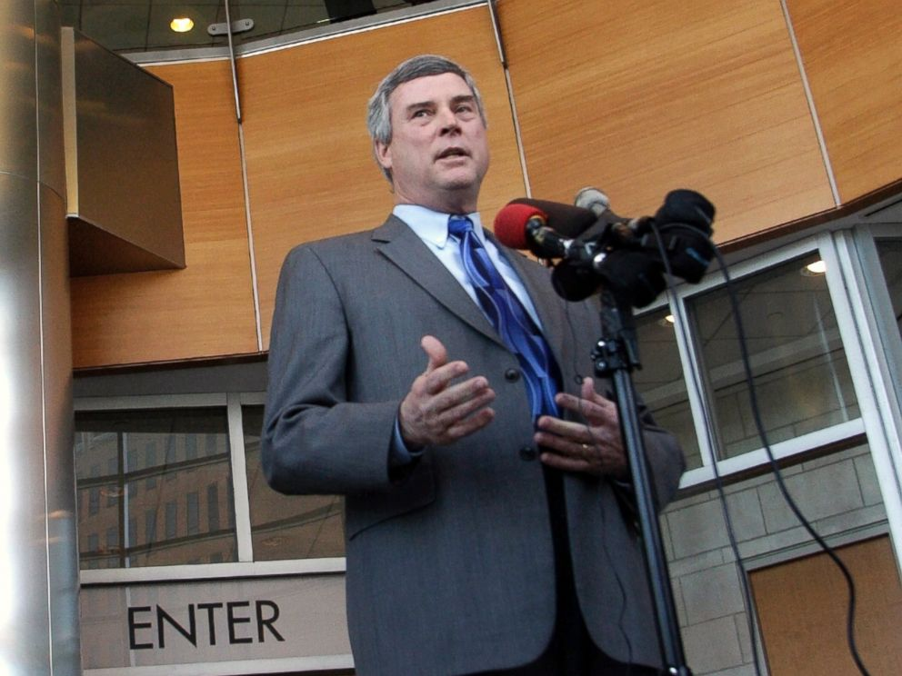 PHOTO: St. Louis County prosecutor Bob McCulloch is seen in this Feb. 10, 2011 file photo in St. Louis.