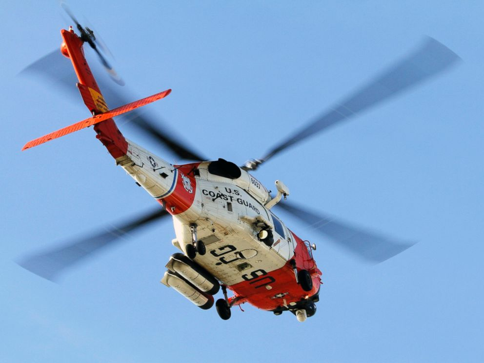 PHOTO: In this Oct. 30, 2009 file photo, a U.S. Coast Guard MH-60 Jayhawk helicopter lifts off at the San Diego Coast Guard Station during a search effort.
