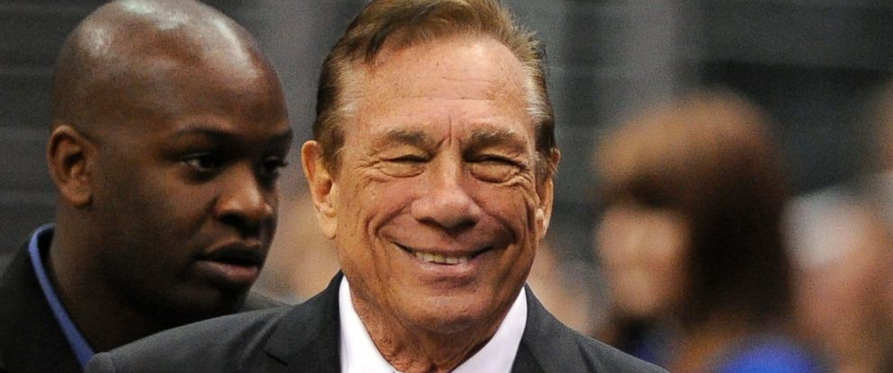 PHOTO: Los Angeles Clippers owner Donald Sterling looks on during the first half of their NBA basketball game against the Atlanta Hawks, in this Jan. 14, 2009, file photo.