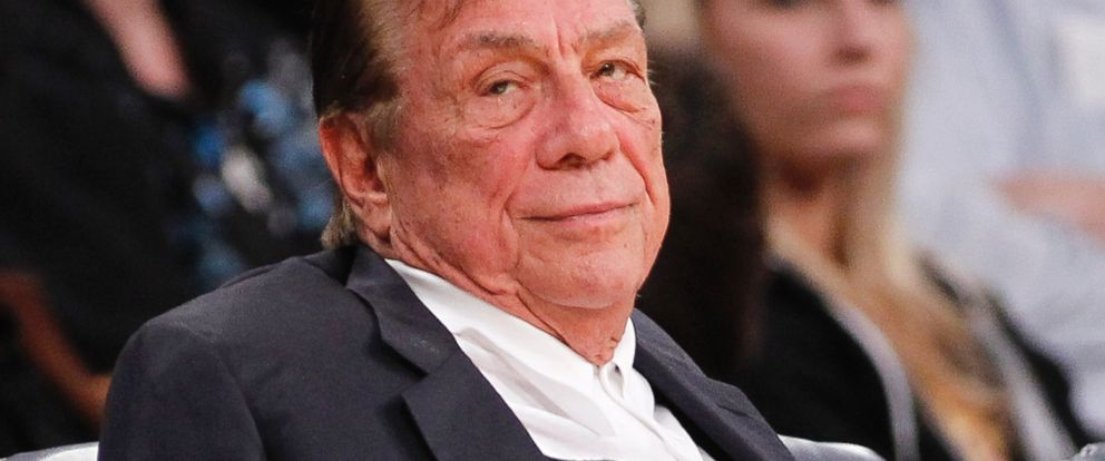 PHOTO: Donald Sterling watches the Clippers play the Los Angeles Lakers during an NBA preseason basketball game in Los Angeles on Monday, Dec. 19, 2011.