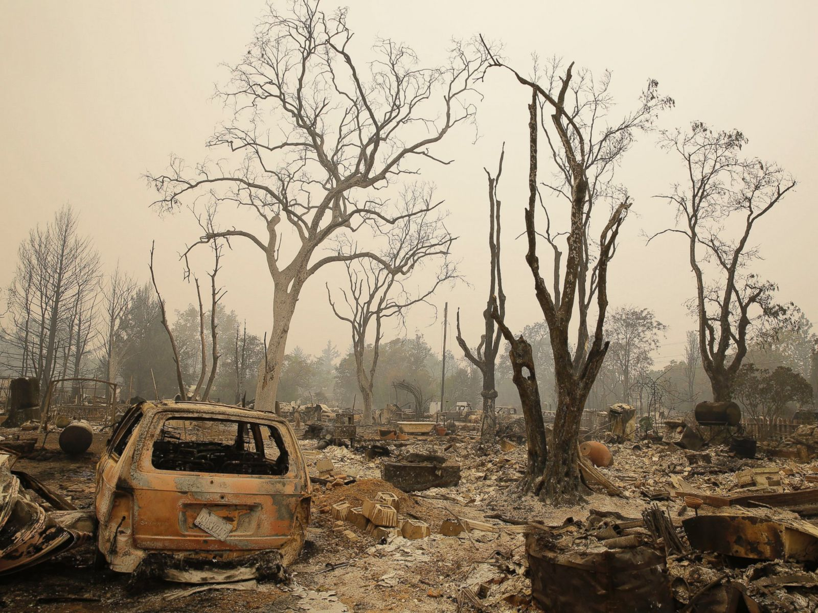 Post-Apocalyptic Level of Destruction Caused by California