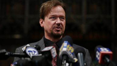 PHOTO: Former United Methodist pastor Frank Schaefer speaks during a news conference, Dec. 19, 2013, at First United Methodist Church of Germantown in Philadelphia.