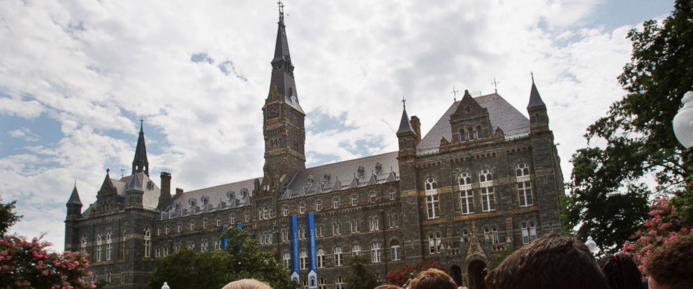 PHOTO: In this July 10, 2013, file photo, prospective students tour Georgetown Universitys campus in Washington. 2016.