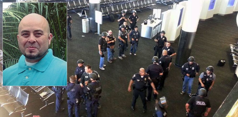 PHOTO: Gerardo Hernandez, a TSA officer, was killed during a gun attack at Los Angeles International Airport, on Nov. 1, 2013.