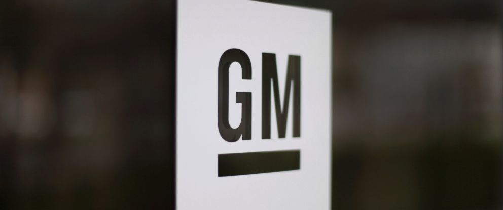 PHOTO: This file photo shows the General Motors logo at the companys world headquarters in Detroit.