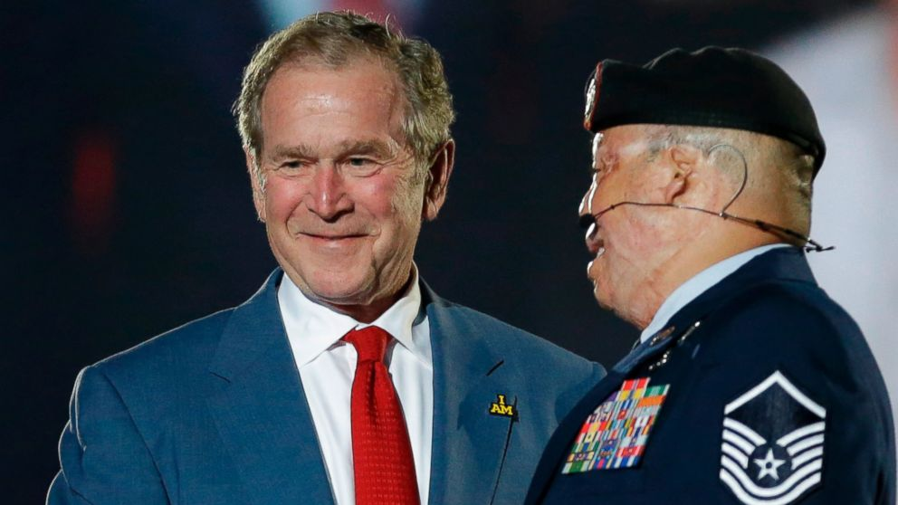 exclusive president bush hopes invictus games will put wounded vets