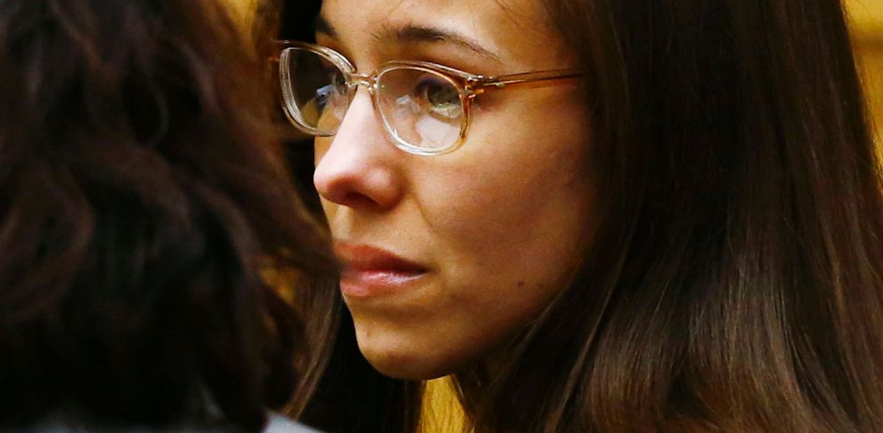 PHOTO: Jodi Arias reacts after she was found of guilty of first-degree murder in the gruesome killing of her one-time boyfriend, Travis Alexander, in their suburban Phoenix home, at Maricopa County Superior Court in Phoenix on May 8, 2013.