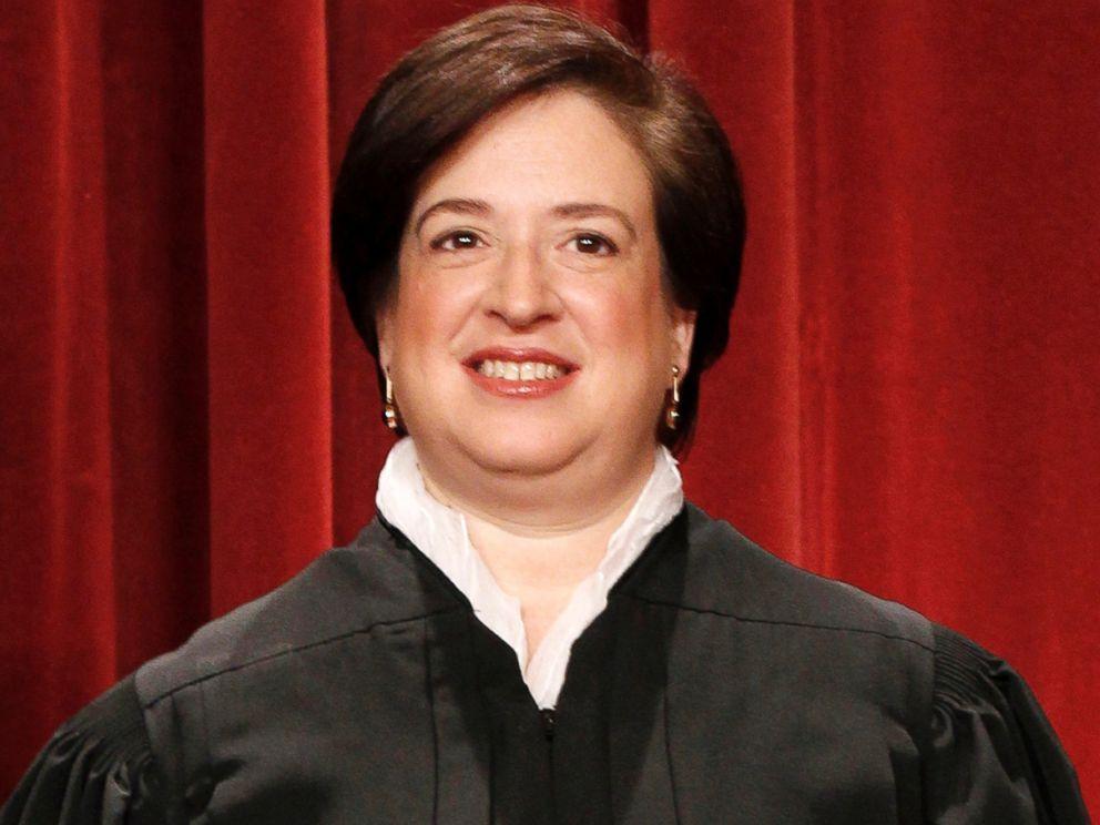 PHOTO: Supreme Court Justice Elena Kagan.Supreme Court Justice Elena Kagan.