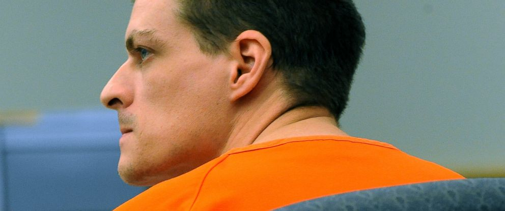 PHOTO: Nathaniel Kibby listens during a court hearing, Aug. 6, 2014, in Ossipee, N.H.