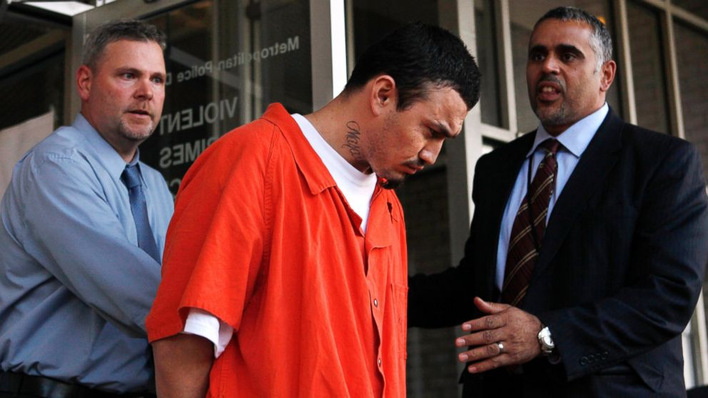 Ingmar Guandique, who was convicted of killing Chandra Levy is seen in Washington, April 22, 2009. Guandique's attorney Eugene Ohm said, Jan. 8, 2016, that former California Rep. Gary Condit, who was romantically linked to Levy, misled the jury when he testified during the man's trial.