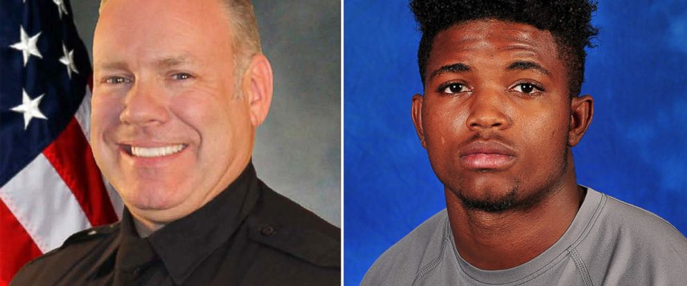 PHOTO: Police Officer Brad Miller, left, and Christian Taylor are seen in these undated photos.
