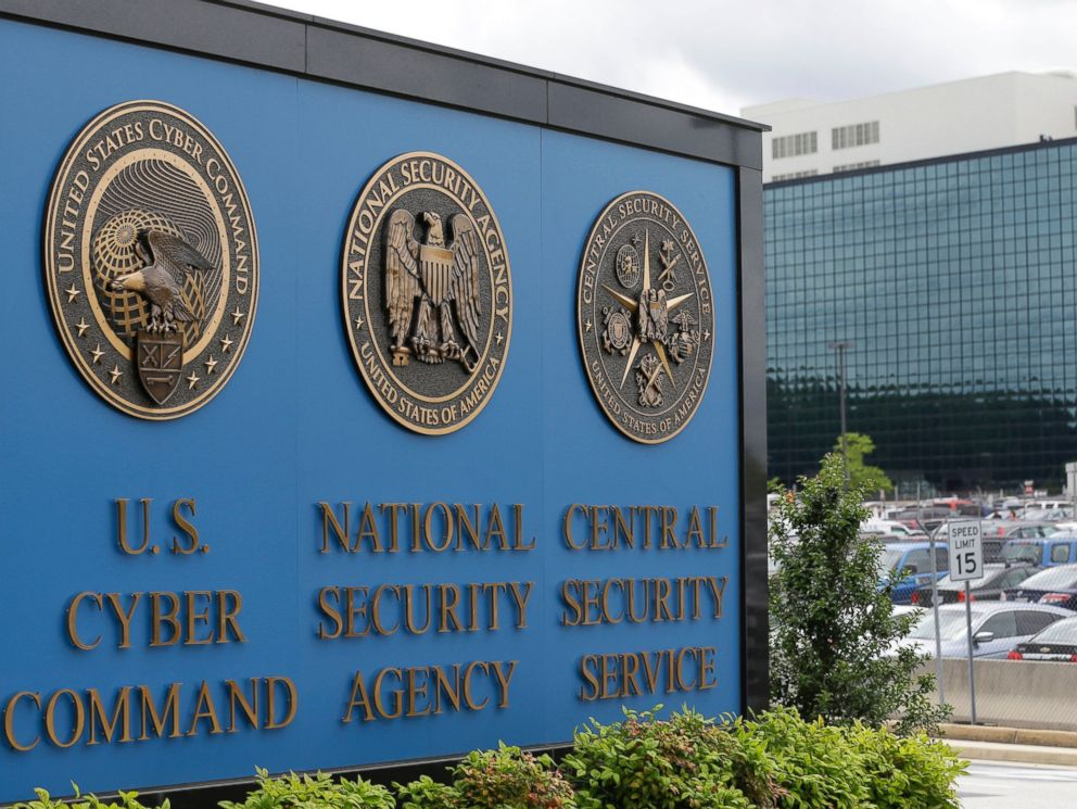 driving  street PHOTO: This June 6, 2013 file photo shows the National Security Agency (NSA) campus in Fort Meade, Maryland.