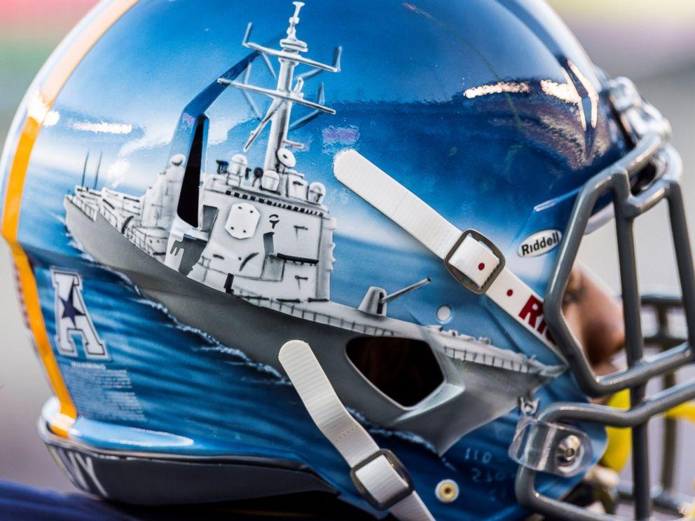New Air Force Football Helmets Highlight Historic ...