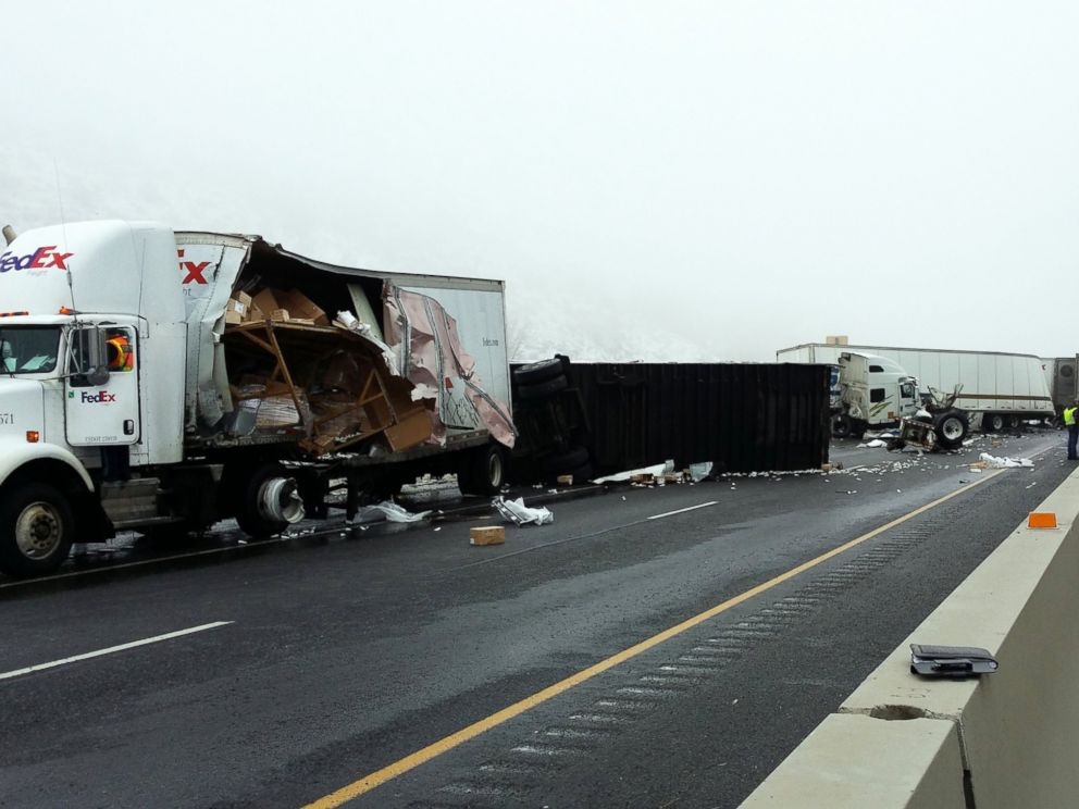 Oregon 18 Crash