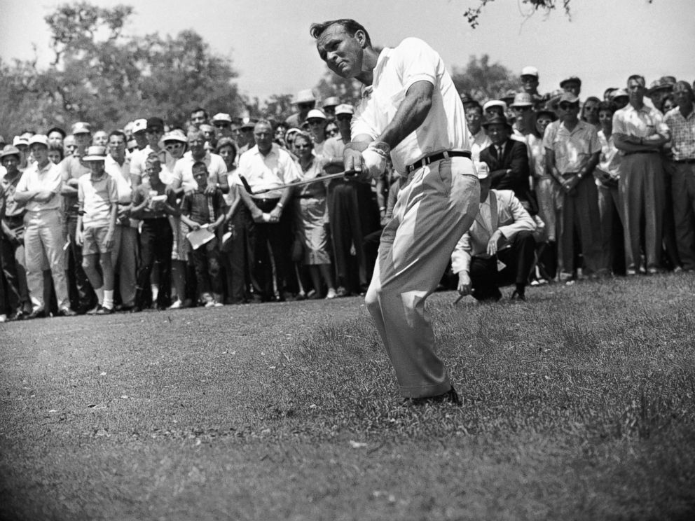 PHOTO:Arnold Palmer is seen here in this April 29, 1962 file photo.