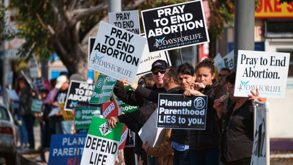 Hopeful of victory, anti-abortion rights protests target