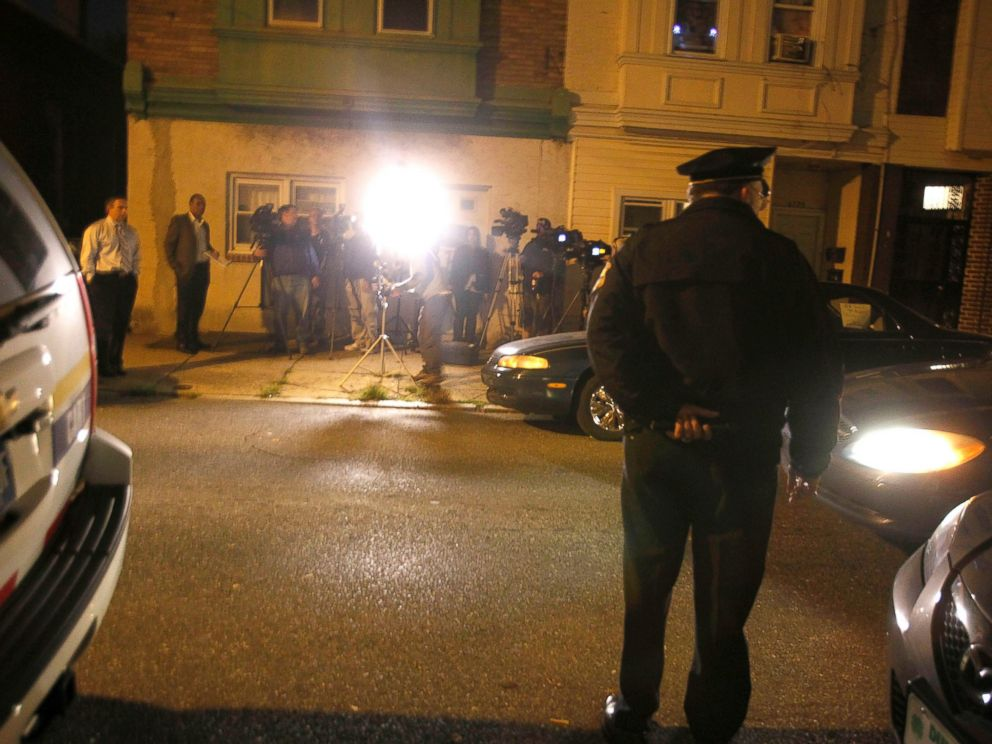 PHOTO: Police Commissioner Charles Ramsey waits to address the media, Oct. 17, 2011.