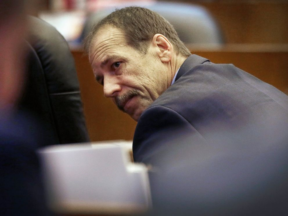 PHOTO: Theodore Wafer waits for the start of his trial at the Frank Murphy Hall of Justice