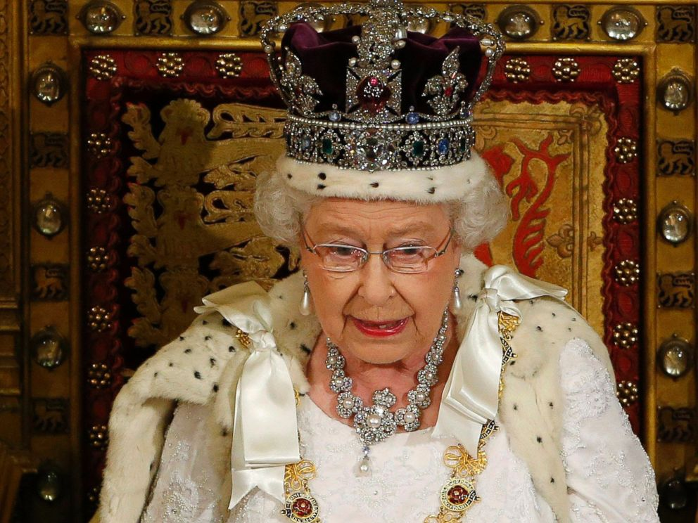 PHOTO: Britains Queen Elizabeth delivers her speech in the House of Lords, during the State Opening of Parliament at the Palace of Westminster in London Wednesday June 4, 2014.
