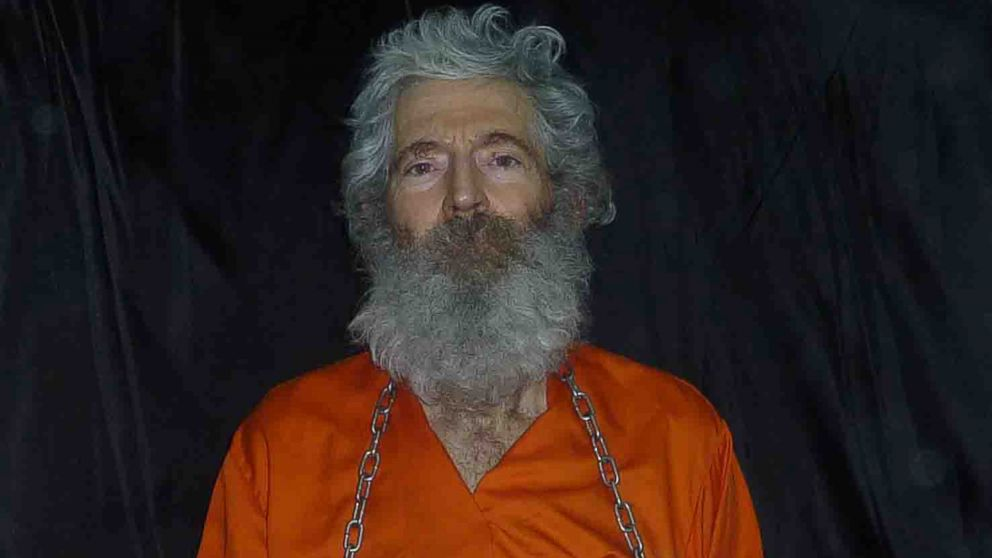 Retired-FBI agent Robert Levinson in a photo the family received in April 2011.