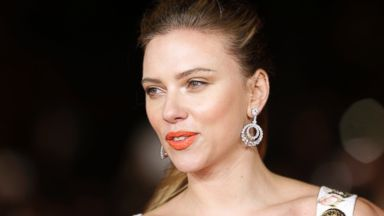 PHOTO: Scarlett Johansson arrives for the screening of the film Her in Rome, Nov. 10, 2013.