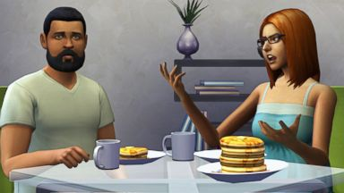 """PHOTO: This undated publicity photo released by Electronic Arts/Maxis shows the video game, """"The Sims 4."""""""