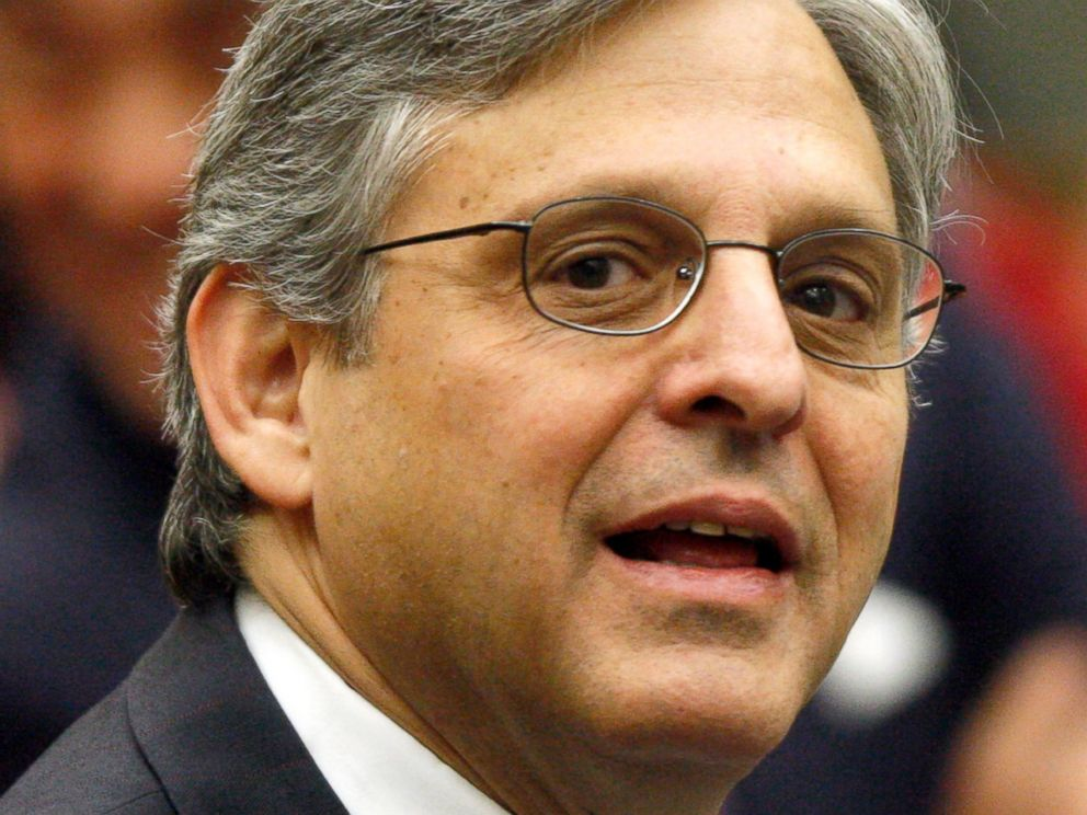 PHOTO:In this May 1, 2008 file photo, Judge Merrick Garland is pictured before the start of a ceremony at the federal courthouse in Washington.