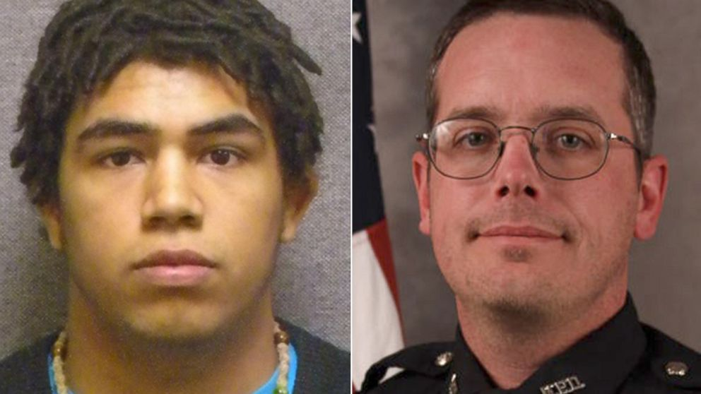 Tony Robinson, 19, seen at left in a state Department of Corrections mugshot, was shot and killed Friday night by Madison Officer Matt Kenny, the Madison police chief said Saturday, March 7, 2015.