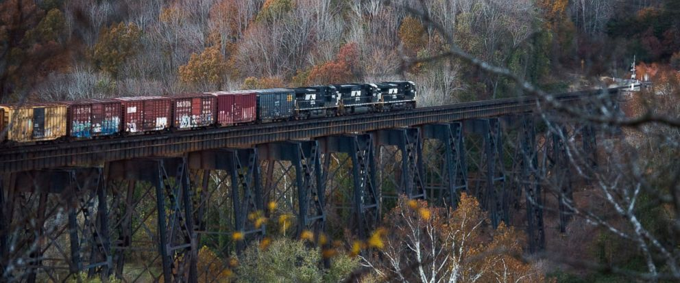Train Slams Two People on Trestle, Killing One