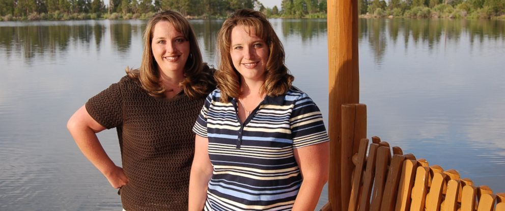 PHOTO: Twin sisters Kelli Wall, left, and Kerri Bunker, right, are shown in this undated photo provided by Kerri Bunker.