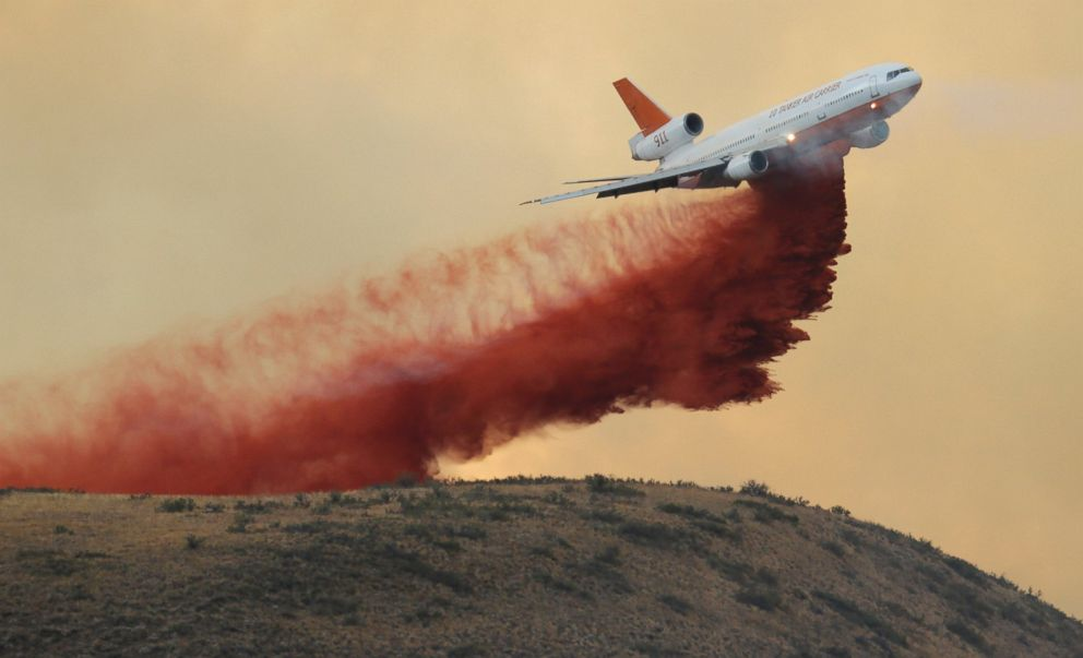 Forest Service Doubles Fleet of Large Firefighting Planes