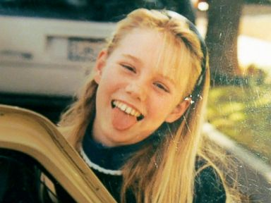 PHOTO: On June 10, 1991, Jaycee Dugard, seen here in an undated photo, was walking to catch the school bus and dressed in her favorite outfit of pink tights and a white t-shirt with a pink cat on the front.