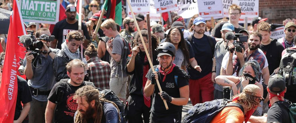 4f0bde4bb24de Explaining antifa protests in the wake of Charlottesville - ABC News