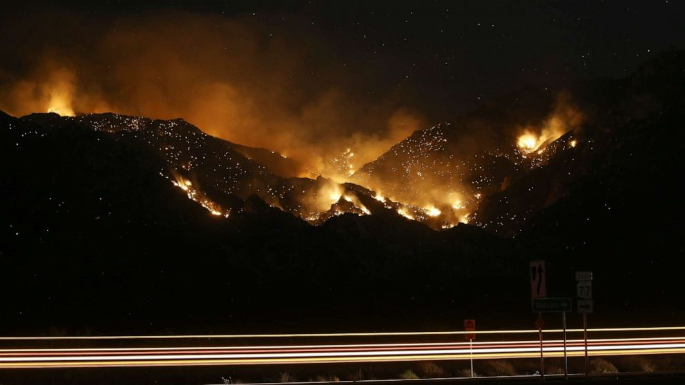 Bighorn Fire persists in Arizona, Father's Day forecast says severe weather in Plains thumbnail