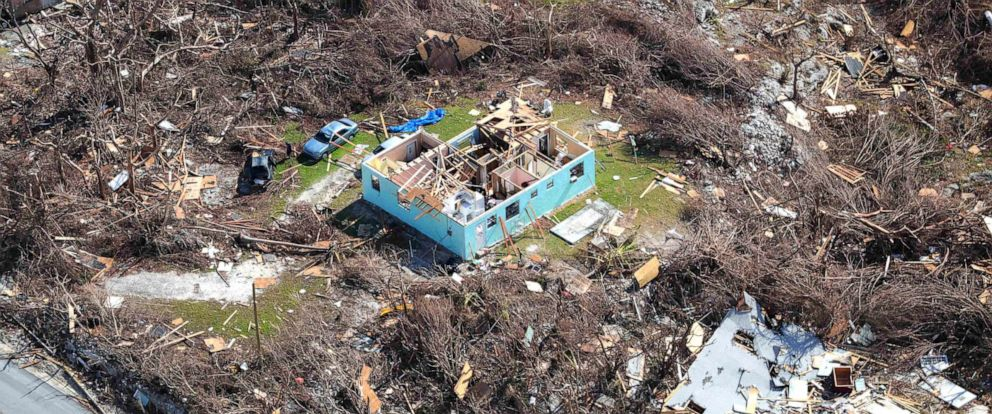 PHOTO: The aftermath of Hurricane Dorian is seen on the island of Abaco in the Bahamas, Sept. 11, 2019.