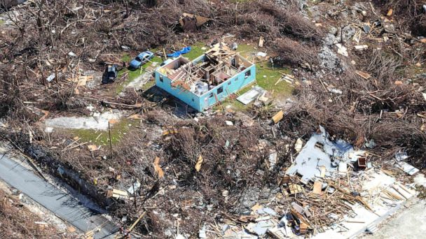 1,300 registered as unaccounted for in the Bahamas in aftermath of Hurricane Dorian