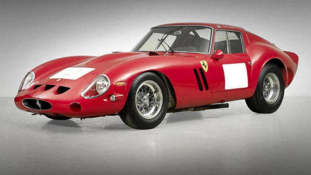Rare Ferrari Sells For 38 Million To Set Auction Record Abc News