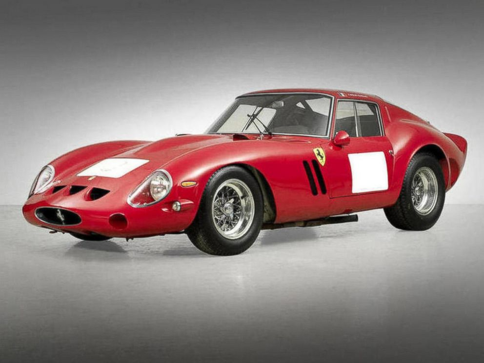 A 1962 Ferrari 250 GTO Berlinetta sold at auction Aug. 14, 2014, one of only 39 of the cars ever made.