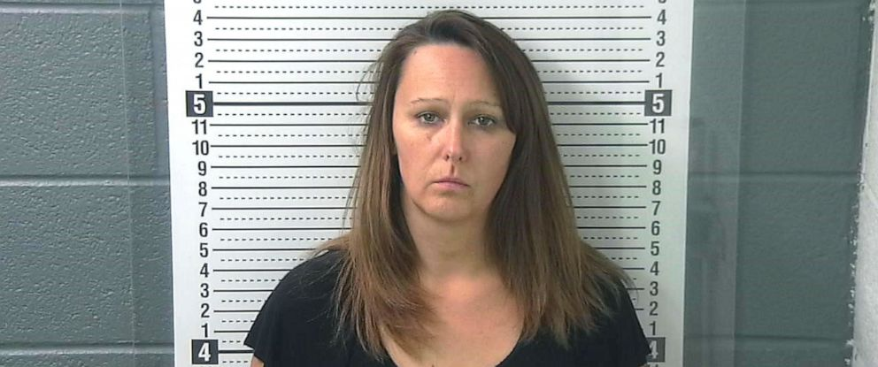 PHOTO: Tammy Brooks in a police booking photo.