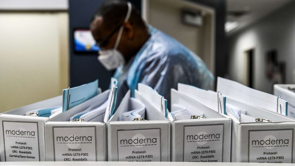 Moderna says its COVID-19 vaccine is up to 94.5% effective