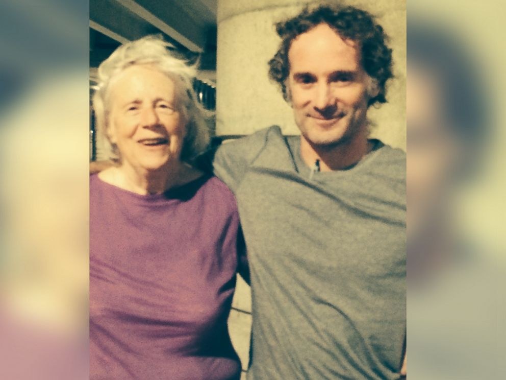 PHOTO: Peter Theo Curtis is seen Aug. 26, 2014 with his mother Nancy Curtis after his return to the United States.