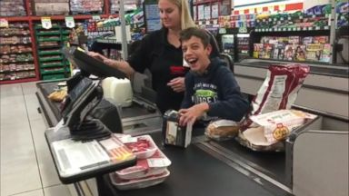 Teacher carries student with cerebral palsy on class hike Video Cashier 16x9 384