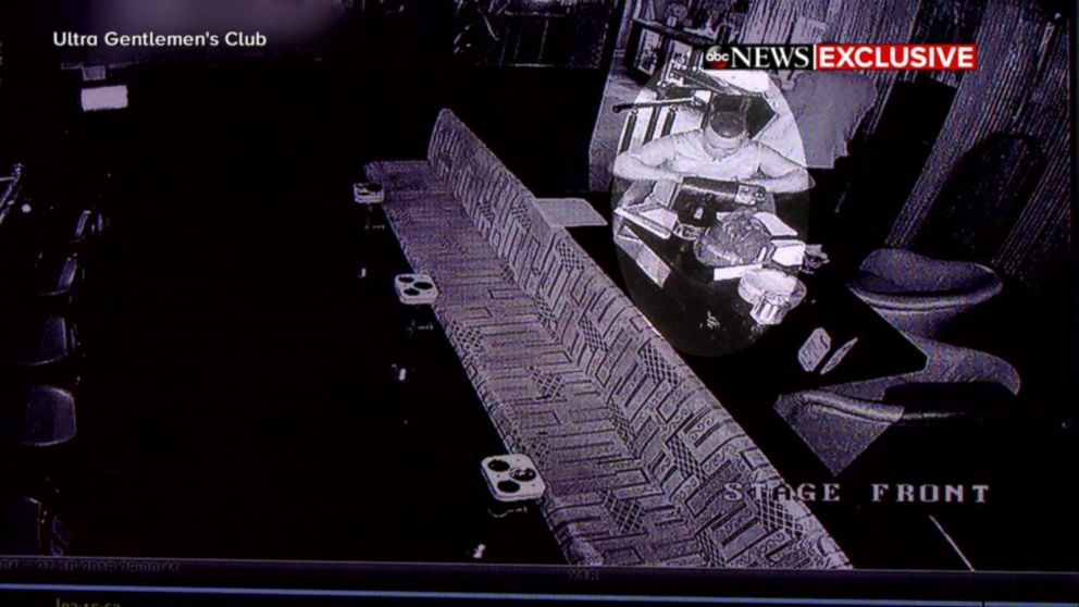 PHOTO: Mail bombing suspect Cesar Sayoc at Ultra Gentlemens Club in West Palm Beach the night before he was arrested.