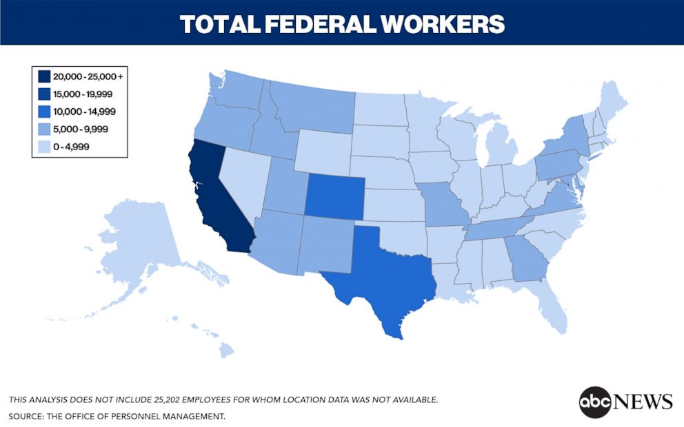 PHOTO: Total Federal Workers