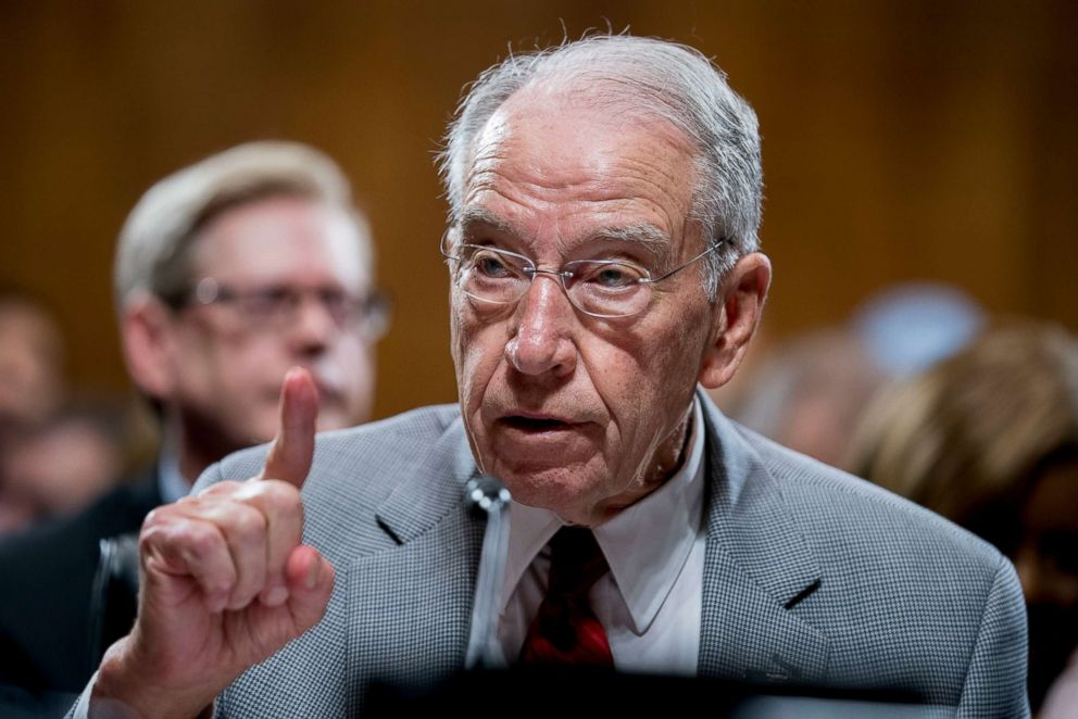 Senate's Grassley sets Saturday deadline for Kavanaugh accuser