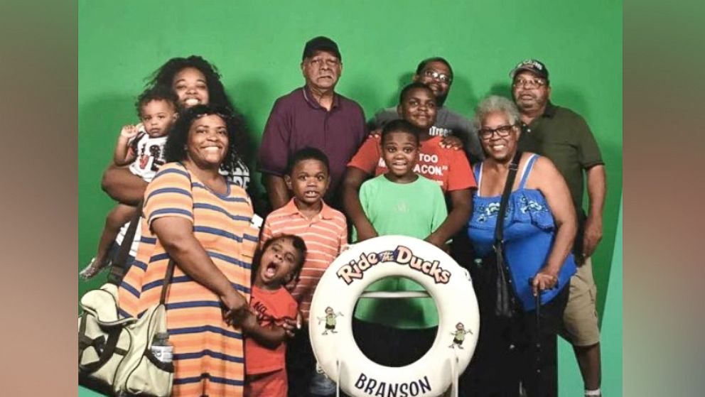 The Coleman family before the duck boat accident in Branson, Missouri, that left nine of them dead.