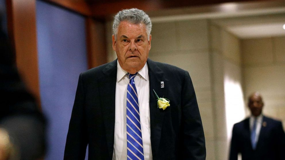 Longtime New York Republican Rep. Peter King will not run for reelection